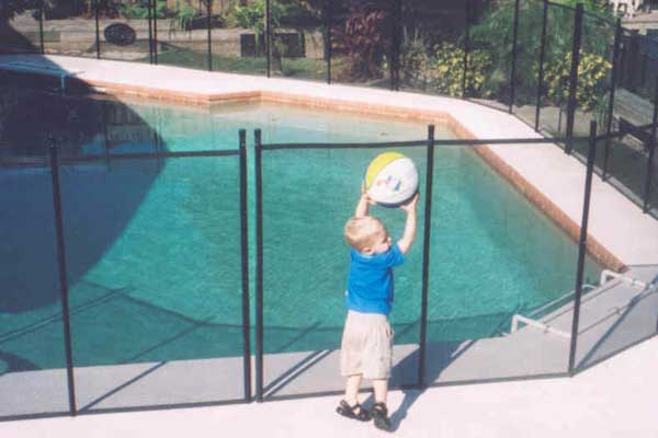 Bay area child guard removable pool safety fences